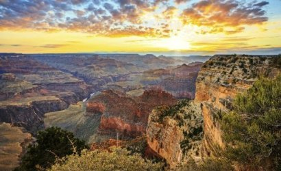 5-Day Las Vegas, Grand Canyon South, Disneyland, San Diego, Universal Studios Bus Tour Package