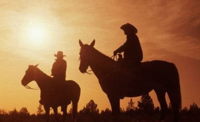 The Wild West - Sunset Dinner Ride by Horseback