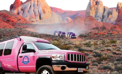 Valley of Fire Tour with PINK JEEP Tours