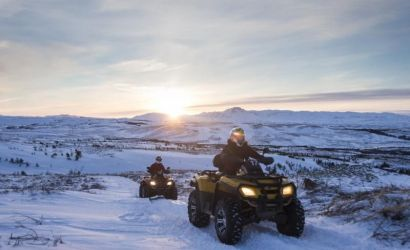 ATV Adventure and Northern Lights Tour from Reykjavik