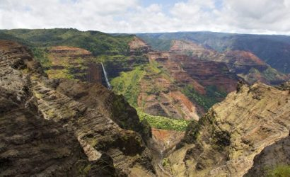 Tour to Waimea Canyon, Kauai
