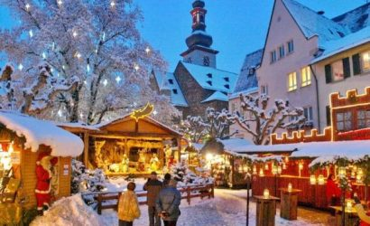 Rudesheim Christmas Market Tour from Frankfurt with Dinner