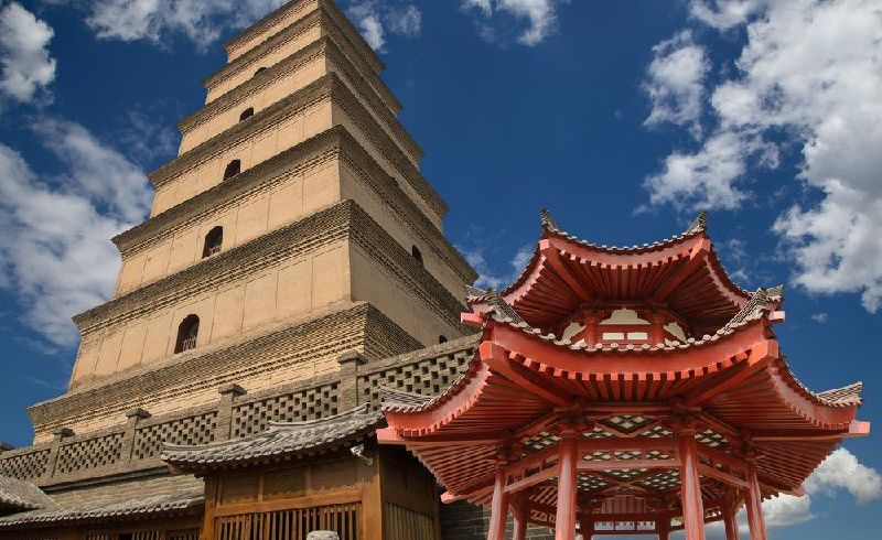 Private Big Wild Goose Pagoda Tour & Pottery Making Class
