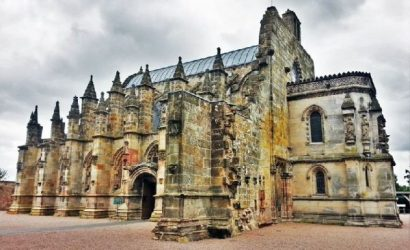 Rosslyn Chapel, Melrose Abbey plus Scottish Borders Tour from Edinburgh