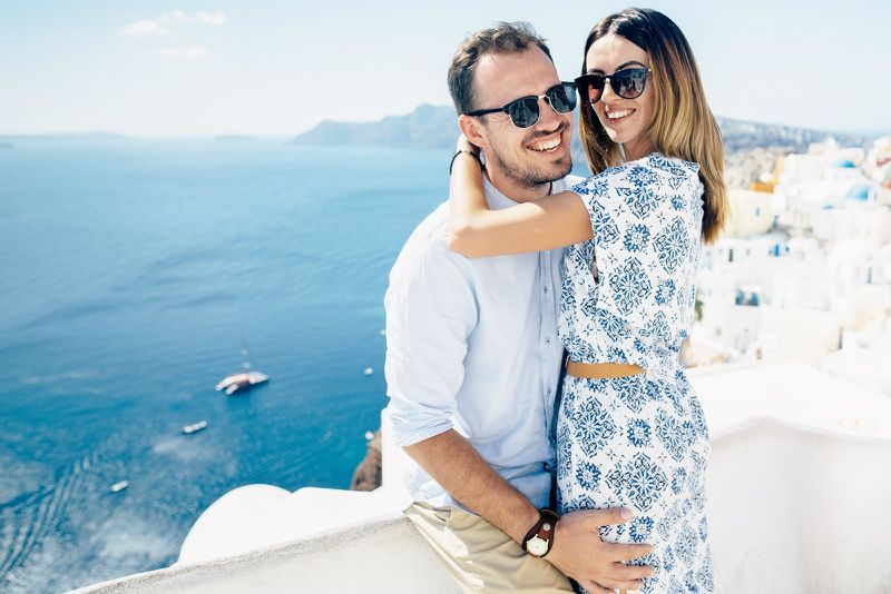 7-Day Greece Honeymoon Package: Athens and Santorini