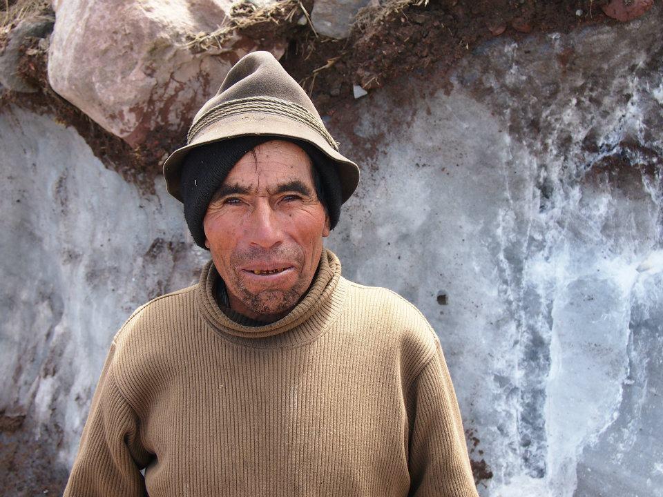 Last Ice Merchant in Ecuador