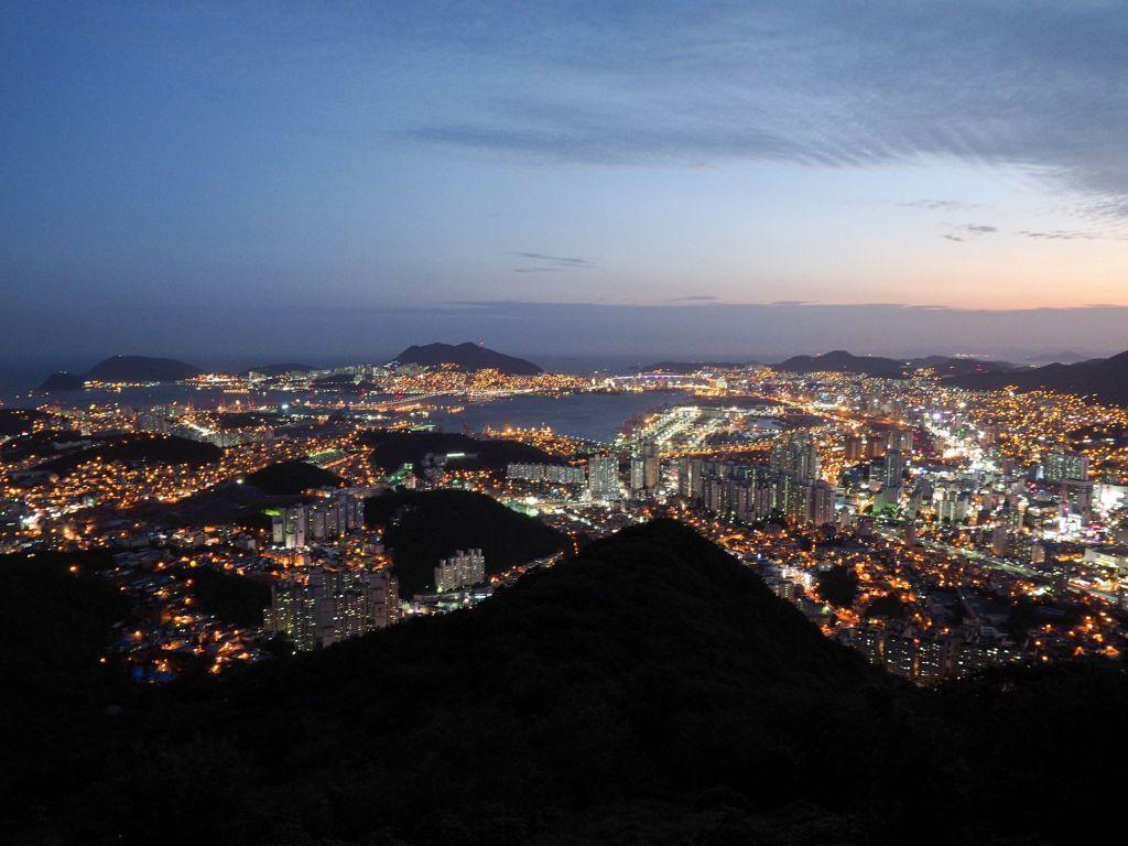 Busan Best Viewpoints - Hwangnyeongsan