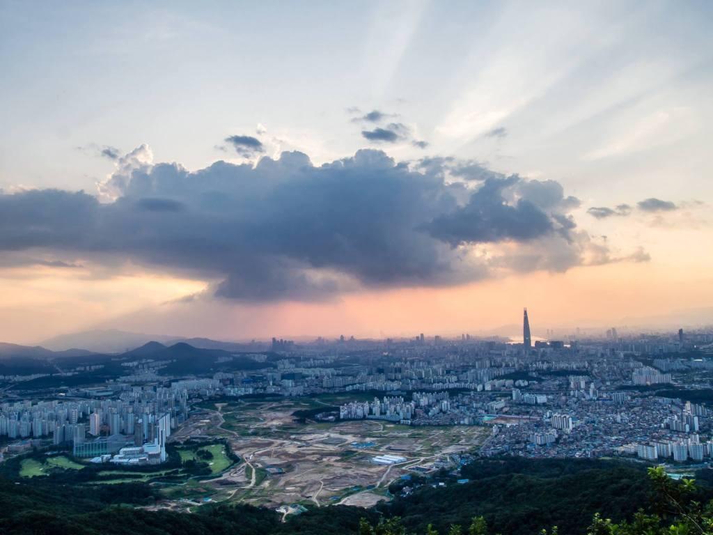 Seoul best viewpoint #2 - namhansanseong