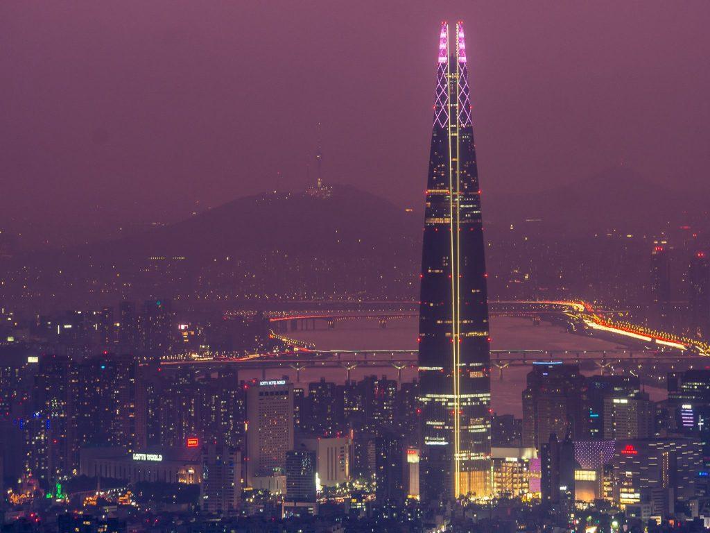 Seoul;s best nighttime viewpoints #2 - namhansanseong