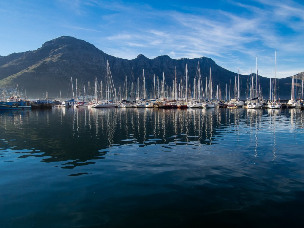 Haut Bay Harbour near Cape Town, South Africa