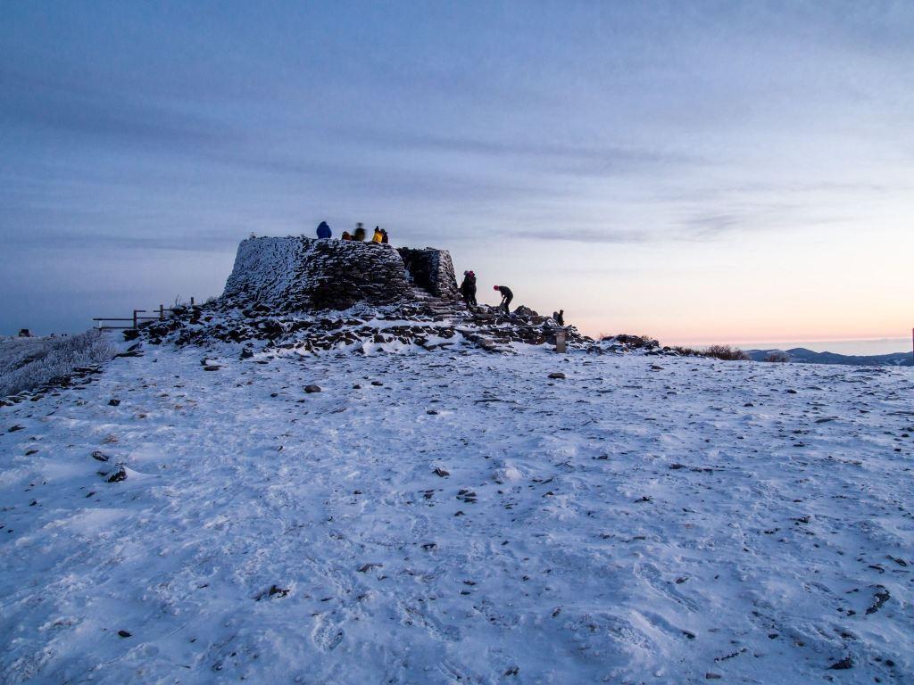 Summit of Taebaeksan.