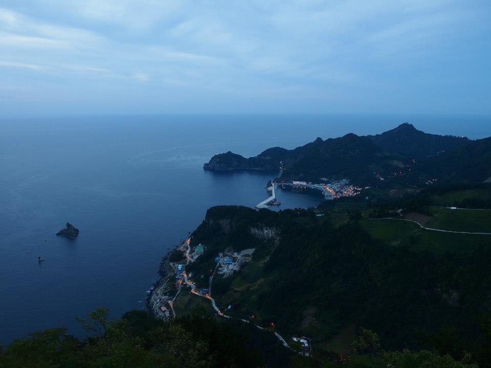 Naesujeon Sunrise Observatory on Ulleungdo, South Korea