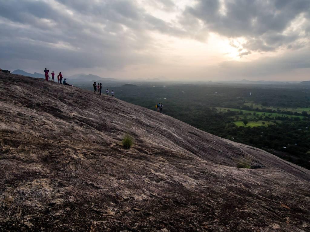 Waiting for Sunset on Pidurangala Rock