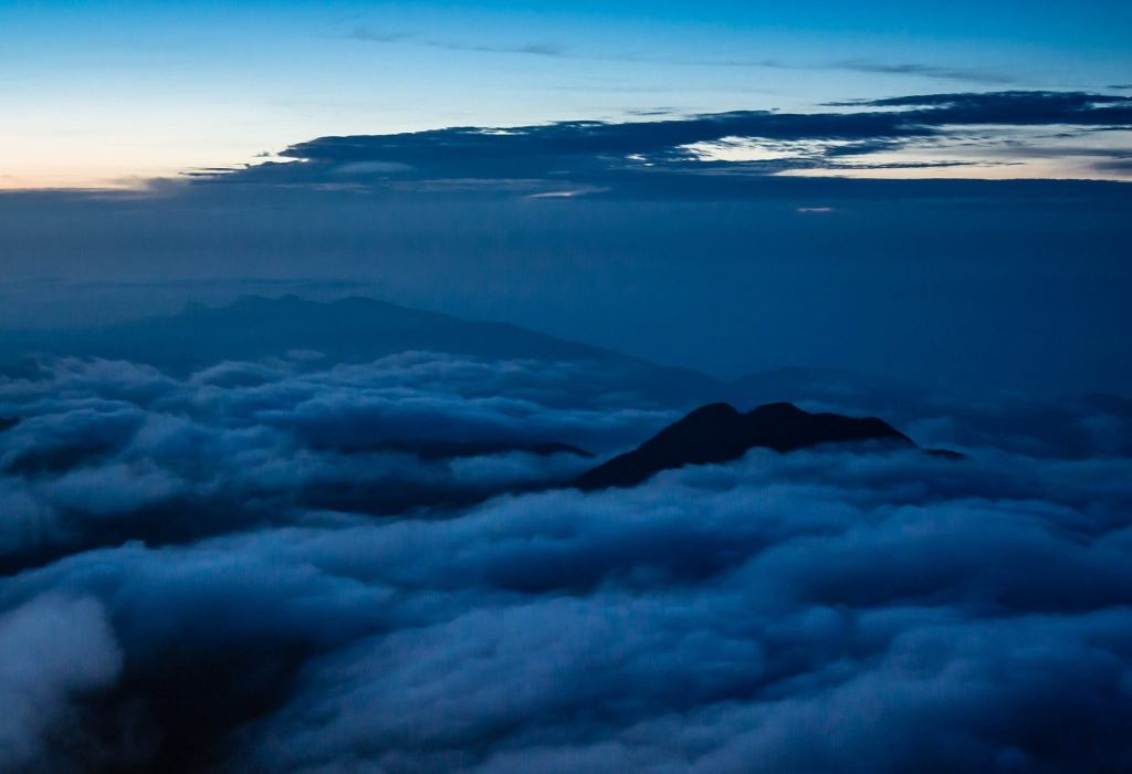 Before Sunrise on Adam's Peak