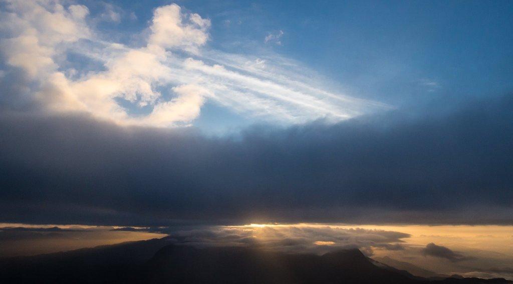 Sunrise on Adam's Peak, Sri Lanka