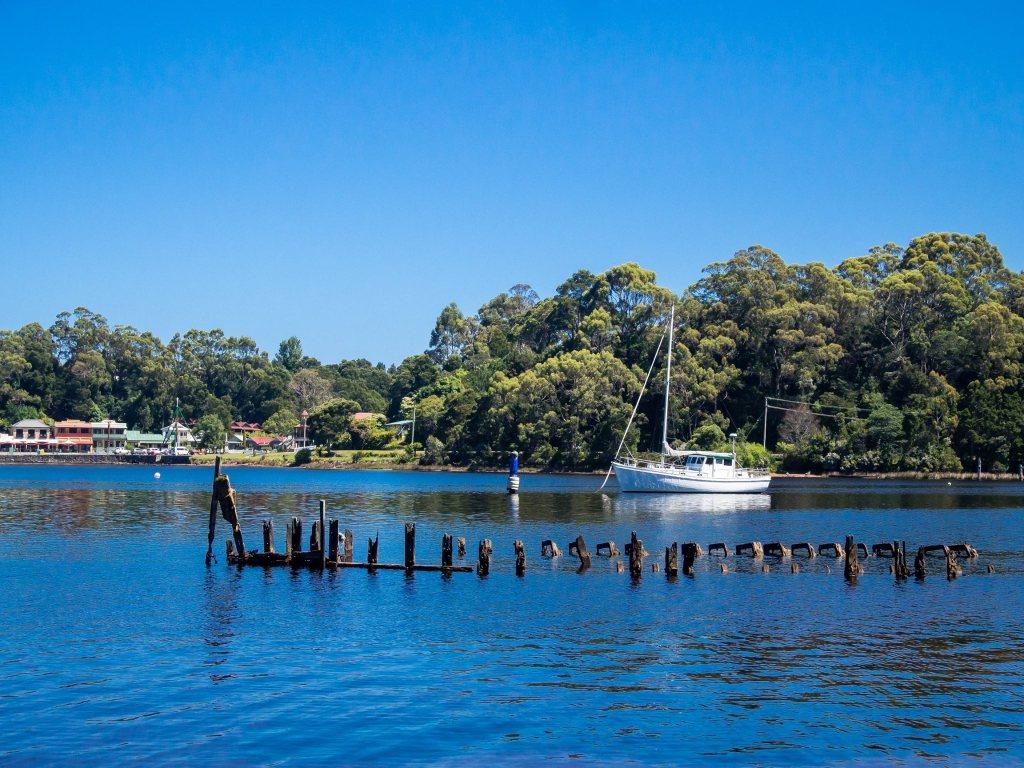 Esplanade, Strahan Tasmania