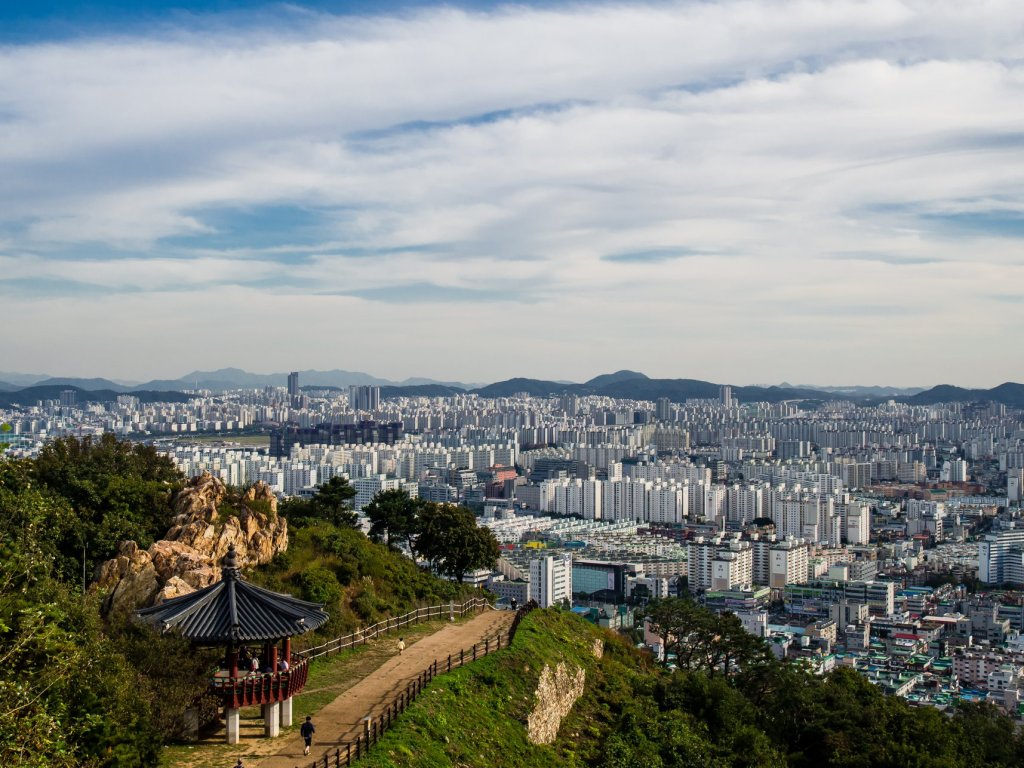 Another View from Gyeyangsan