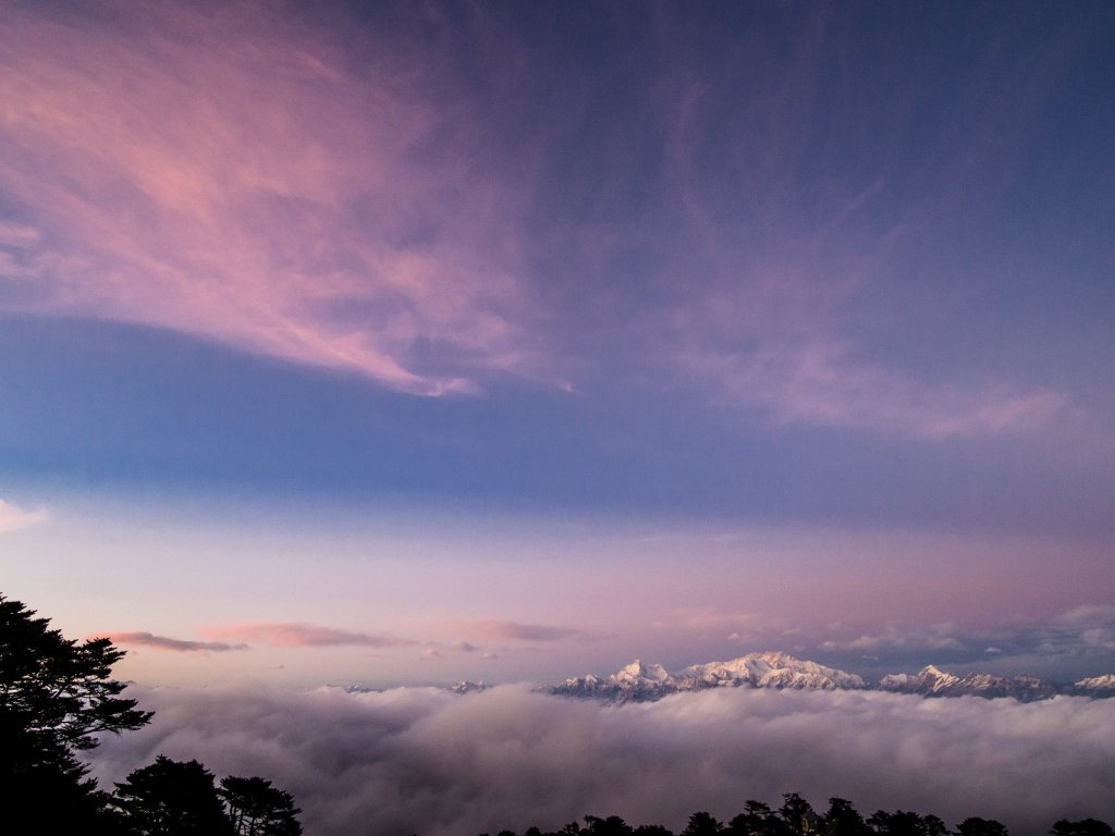 Incredible views from Sandakphu of Kanchenjunga and more!