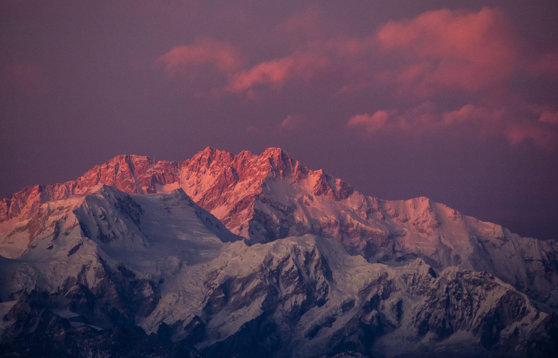 Kanchenjunga from Sandakphu Trek