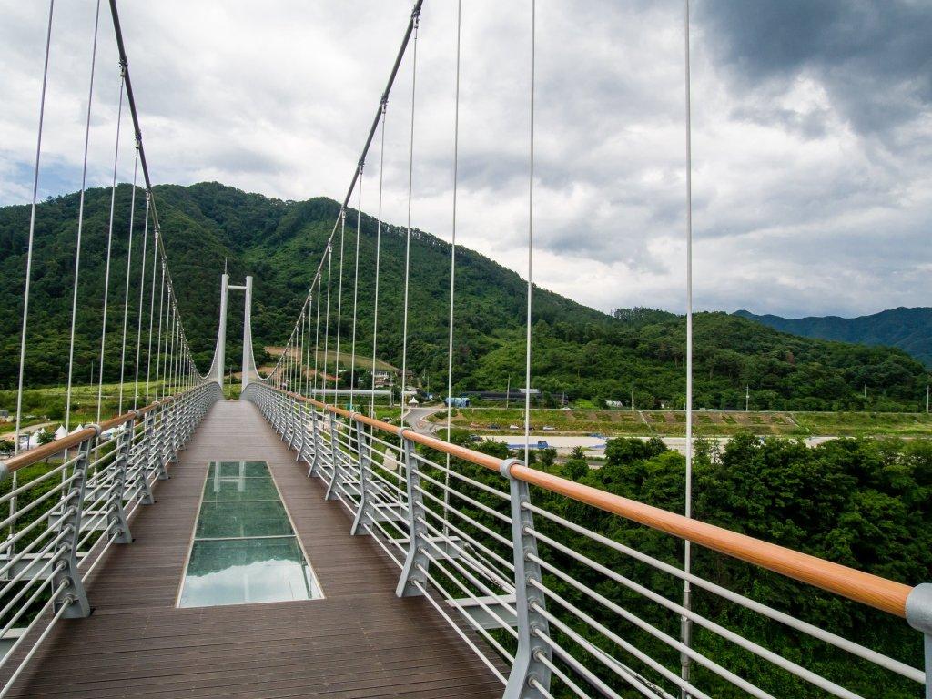 Hantanggang Sky Bridge in Pocheon