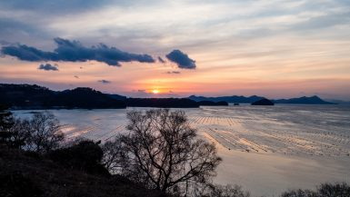 Sunset in Tongyeong