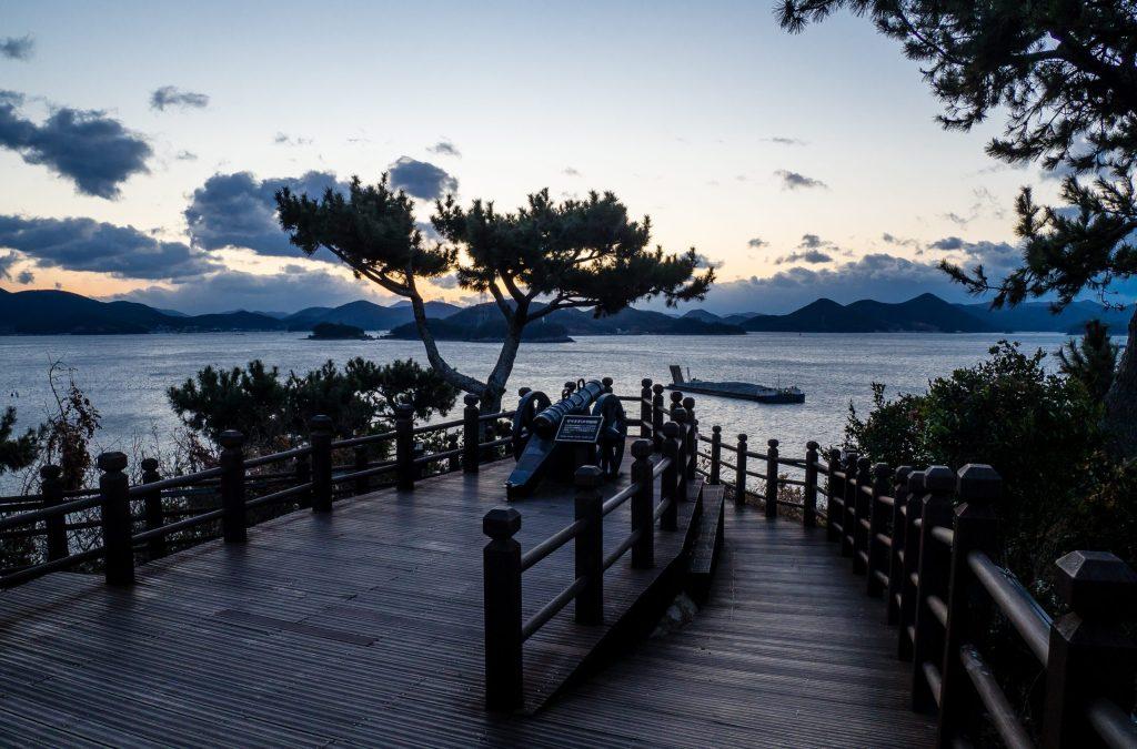 Yi Sun Shin Park Sunrise