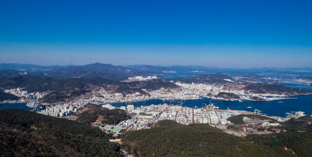Tongyeong View from Mireuksan