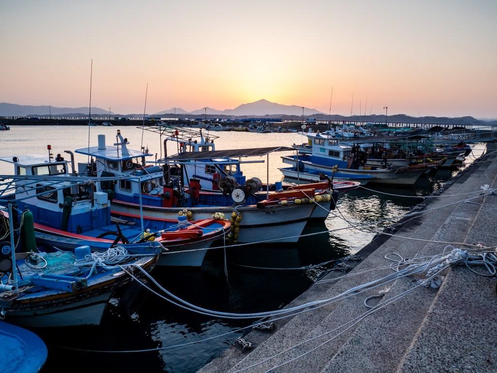 Daepo Port in Sacheon