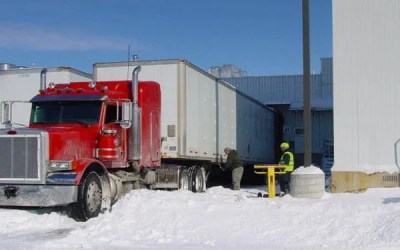 Loading Dock Uses GoTreads to Keep Trucks Moving