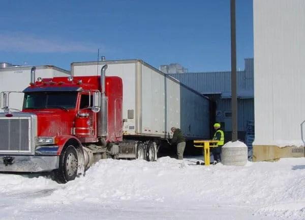 Loading Dock Uses GoTreads to Keep Trucks Moving