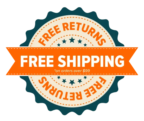 GoTreads Free Shipping Badge