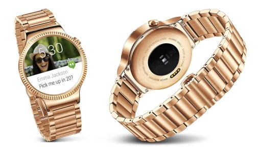 Huawei's rumoured gold smartwatch expected to be announced at IFA 2015
