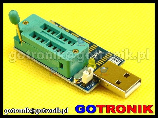Mini programator do pamięci szeregowych CH341A