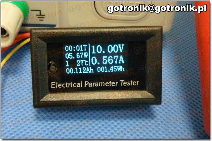 Miernik parametrów elektrycznych
