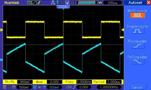 pomiar 5: regulacja tonów niskich (basów) wartość maksymalna
