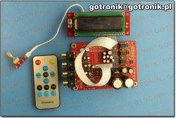 Przedwzmacniacz z wyświetlaczem LCD
