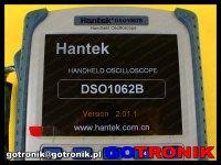 ekran oscyloskopu Dso1062B Hantek