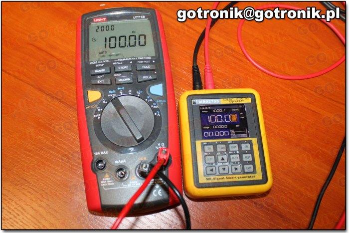 Zadajnik sygnału o wybranej częstotliwości