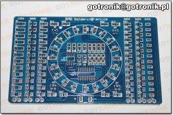 Nauka lutowania elementów SMD BTE-389