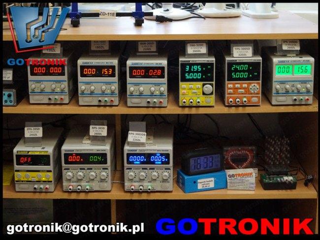 zasilcze laboratoryjne w ofercie Gotronik