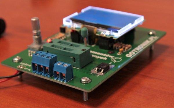 Test tranzystora SMD