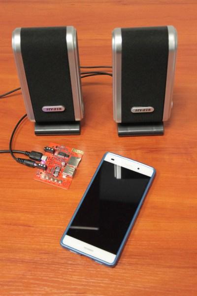 Podłączenie głośników stereo do modułu wzmacniacza