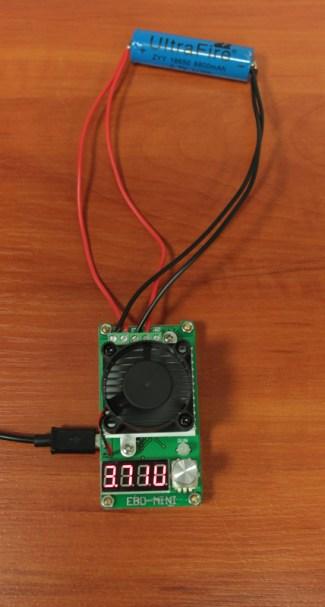 Test pojemności baterii