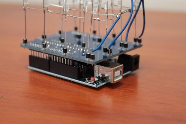 Umieszczona płytka na pinach arduino