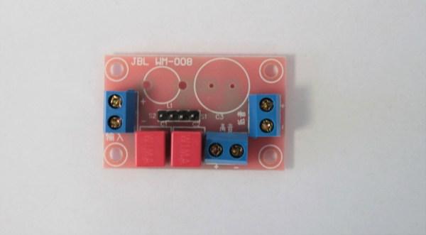 Przylutowane kondensatory foliowe