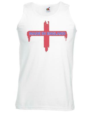 Vest England Red cross Sport