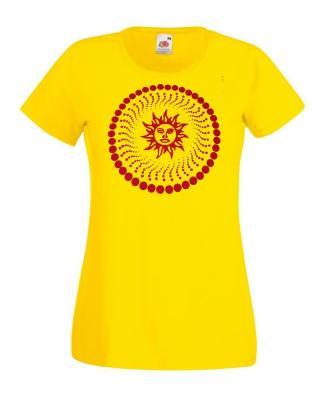 Trippy sun t-shirt California Dreaming LSD