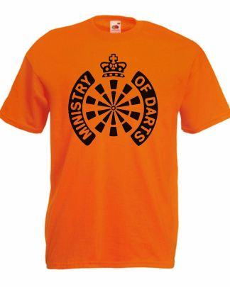 Ministry of Darts Orange T-Shirt World Matchplay