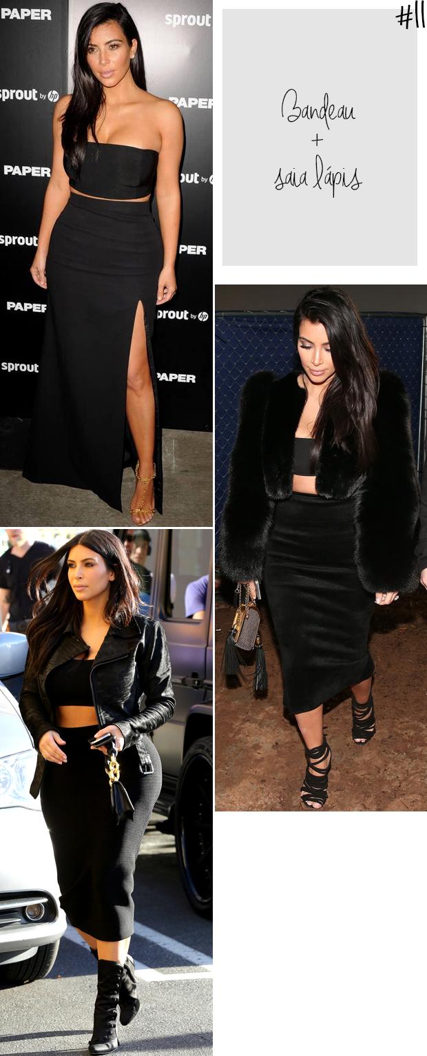 kim kardashian top bandeau e saia justa blog got sin -