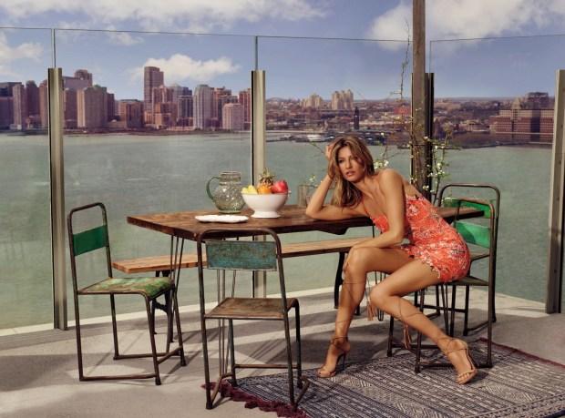 Gisele Bundchen Colcci Verão 2016 Sean OPry campanha Nova York blog got sin 12